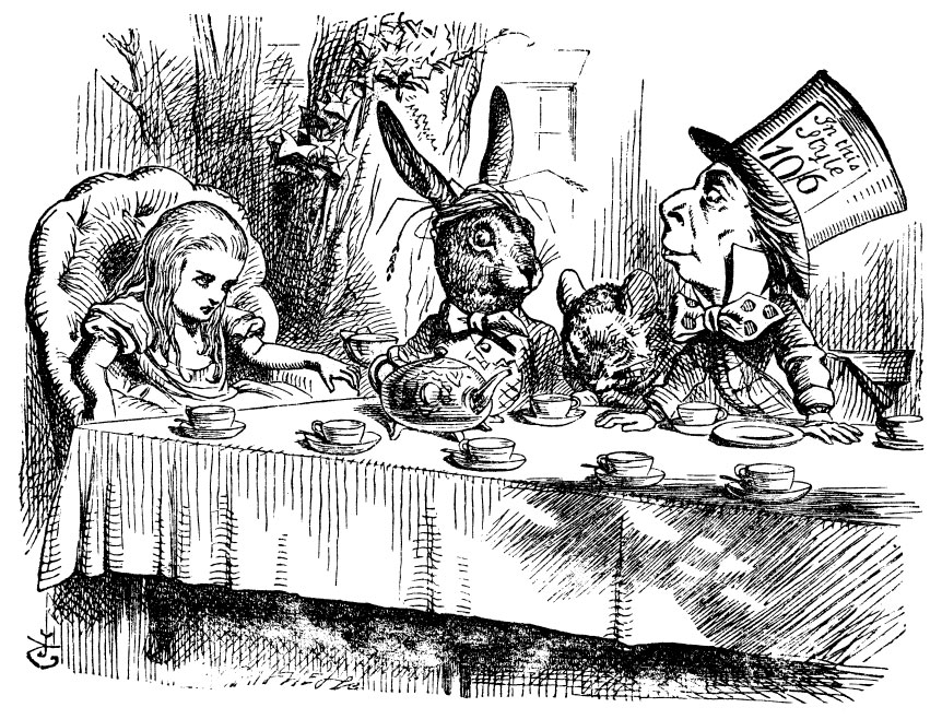 The Tea Party- Alice's Adventures in Wonderland