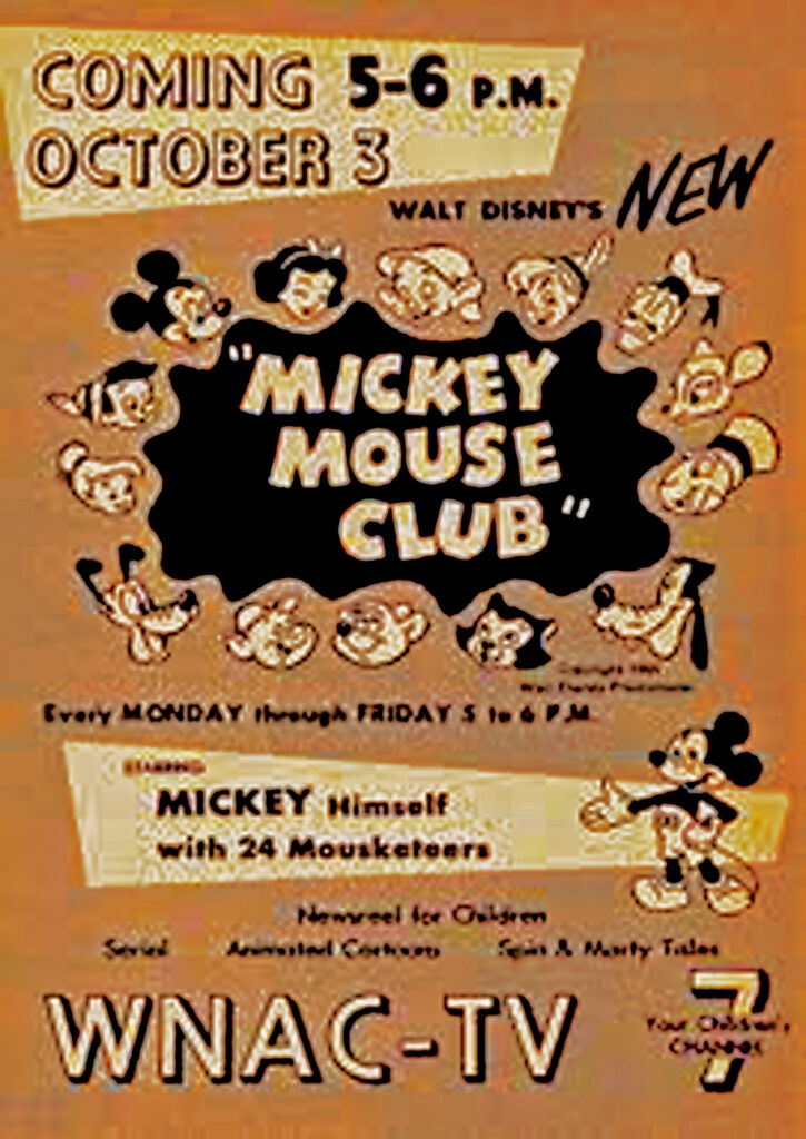 MICKEY MOUSE ADVERTISMENT