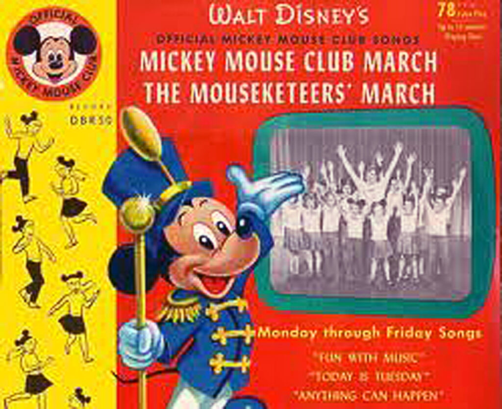 MICKEY RECORD ALBUM