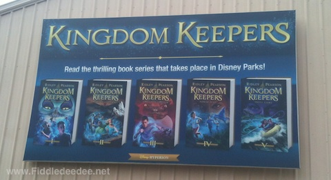 You can get a list of the main characters here  CharactersKingdom Keepers Books