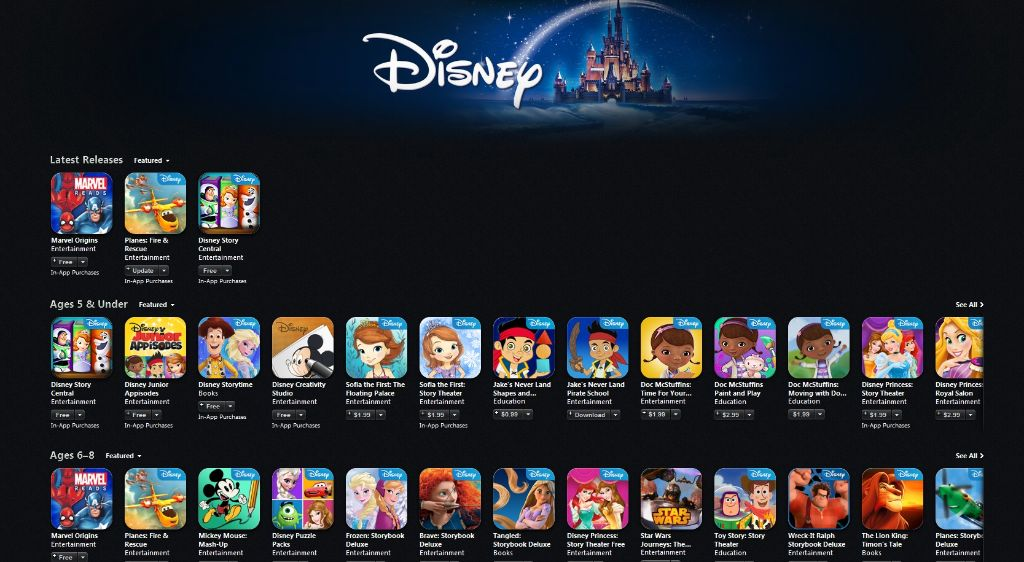 Disney App Store Labor Day Sale | the Disney Driven Life