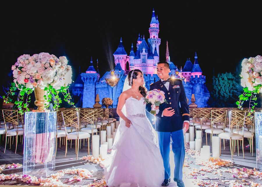 Disney Fairytale Weddings Special Ruby Eric In Disneyland