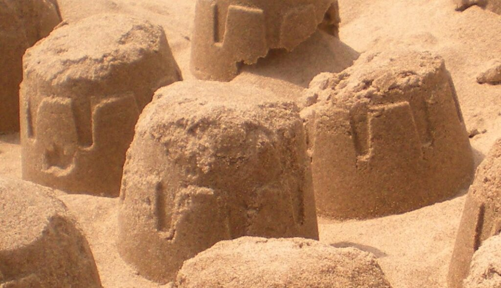 mickey sandcastle
