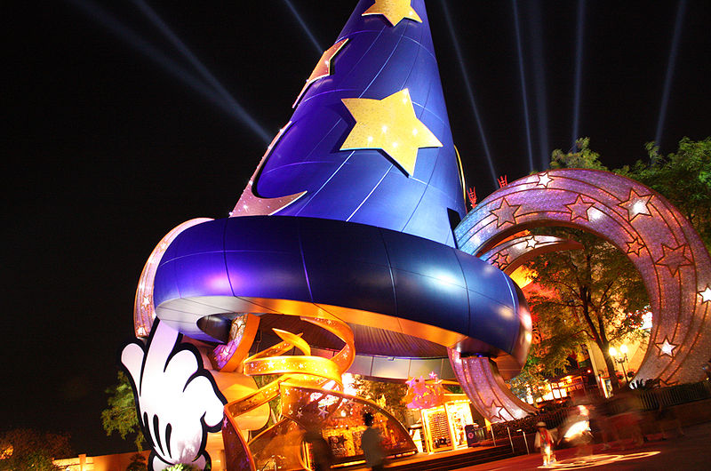 The Sorcerer's Hat at Disney's Hollywood Studios