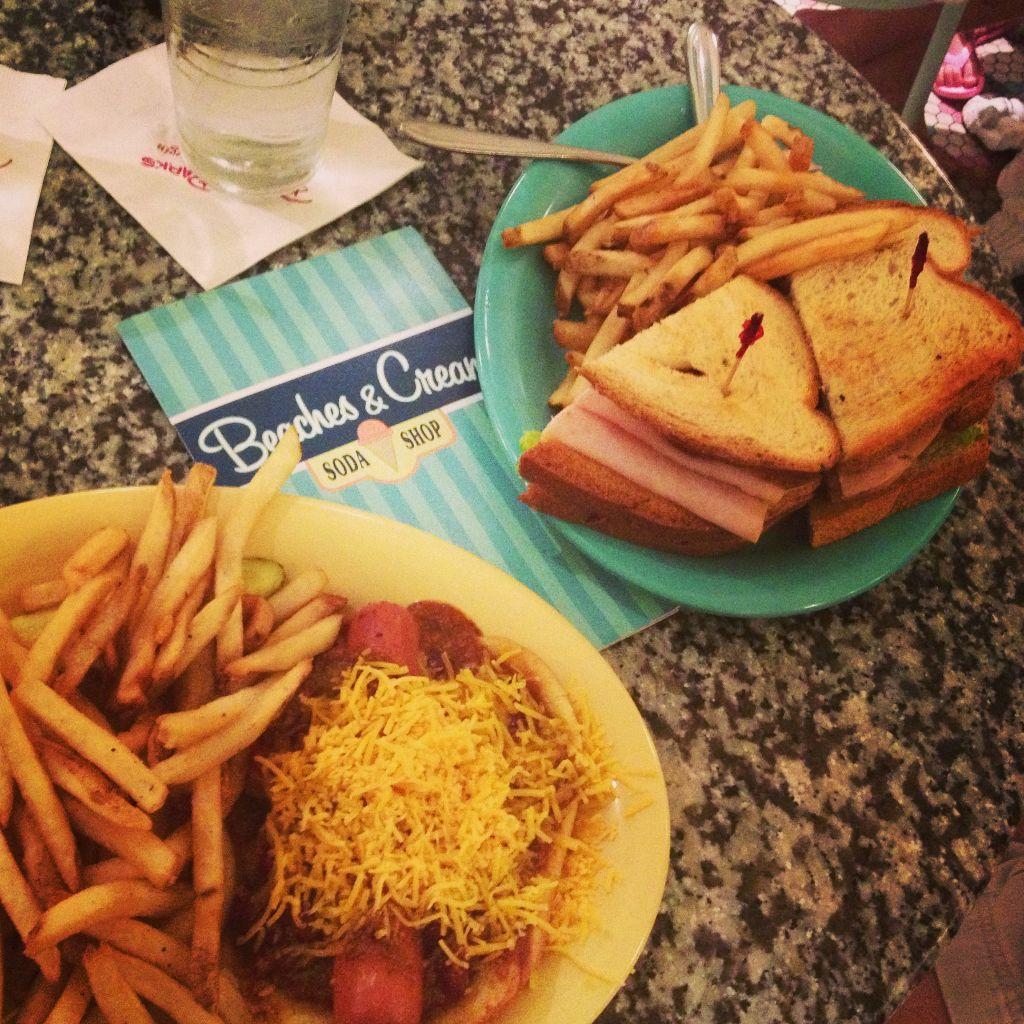 Great food at Beaches  Cream Restaurant at the Beach Club Resort