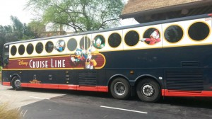 Disney Cruise Line motor coach
