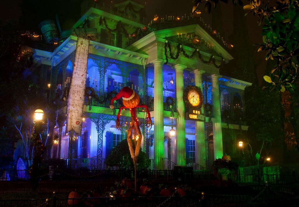 HALLOWEEN TIME at the Disneyland Resort, Haunted Mansion Holiday