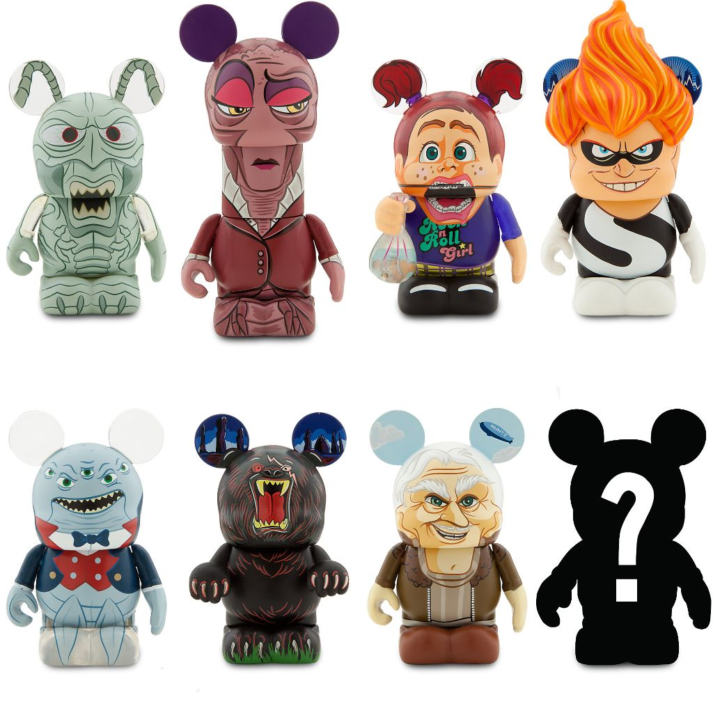 Disney Pixar Villains Vinylmations