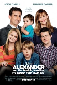 "Before - Disney's ""Alexander and the Terrible, Horrible, No Good, Very Bad Day"""