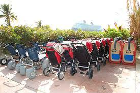 Castaway Cay Strollers Wheelchairs Wagon
