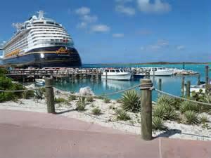 Castaway Cay ship area