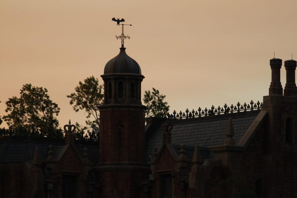 Haunted Mansion Weather Vane - Wordless Wednesday