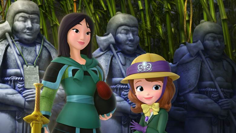 Mulan & Sofia the First