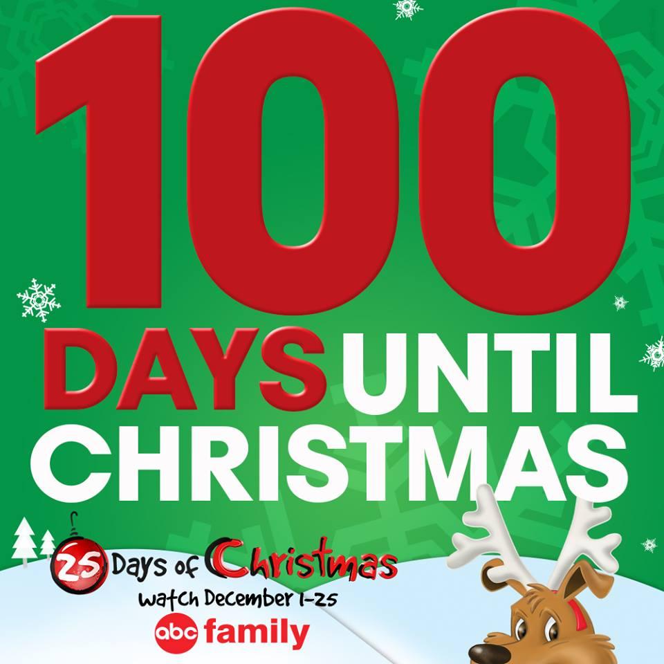 Abc Family Christmas.Abc Family S 100 Days Til Christmas Too Soon Or Not Soon
