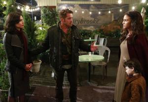 Regina?  Meet my wife, Marian.  Marian, my girlfriend, Regina.  AWKWARD!  (photo via ABC Television)