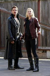 Hook and Emma follow the mysterious ice trail.