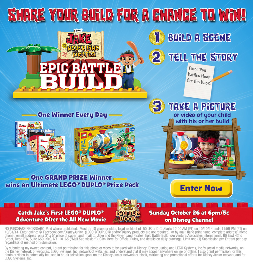 Epic Battle Build Jake Neverland pirates