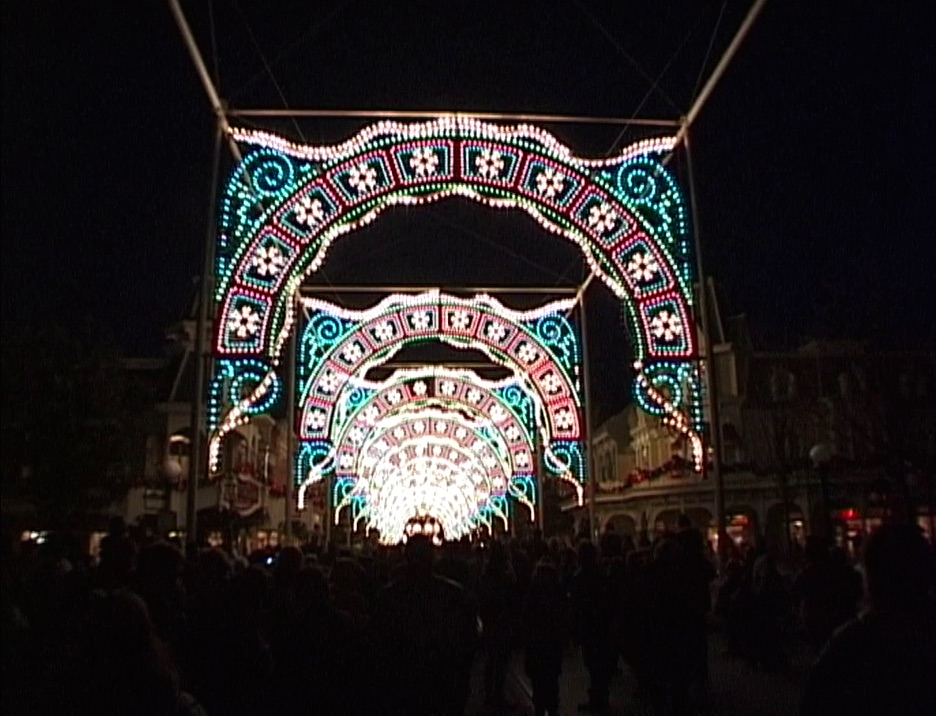 Disneyland Paris christmas 2000