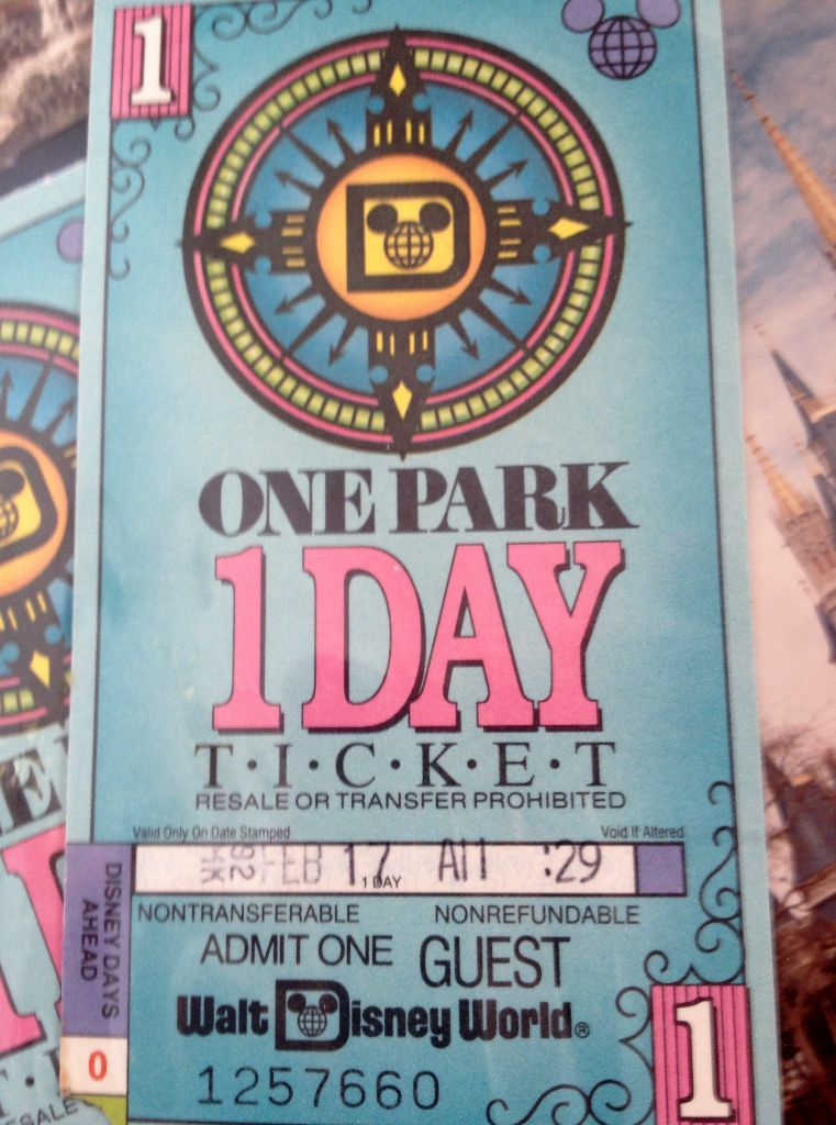 Vintage park ticket