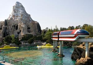 Disneyland Monorail matterhorn Subs