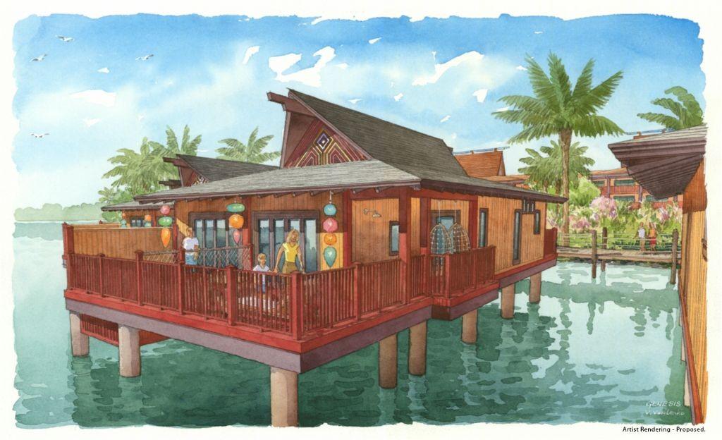 Disney's Polynesian Villas Bungalows Opening in 2015