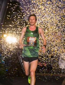 Fountain Valley, Calif. native Nick Arciniaga blasted along an intergalactic journey Sunday to win the inaugural Star Wars Half Marathon presented by Sierra Nevada Corporation at Disneyland Resort, his second runDisney victory in the past five months. Arciniaga, 31, who now lives in Flagstaff, AZ, won the Disneyland Half Marathon in August before breaking the finishing line tape first again Sunday, this time greeted at the finish by Mickey, Minnie, Donald and Goofy dressed as their favorite Star Wars characters.