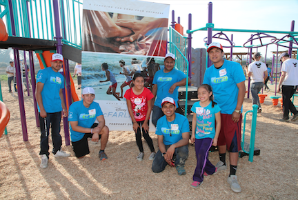 Disney Voluntears, Kaboom & McFarland Playground
