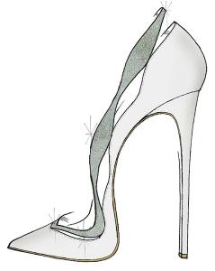 Cinderella Shoe - Alexandre Birman