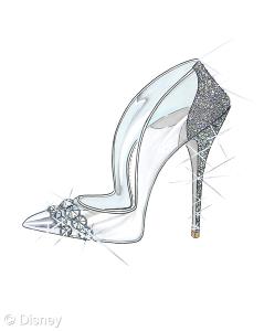 Cinderella Shoe - Paul Andrew