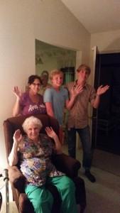 Tamela H. DWTS Spring Break Family