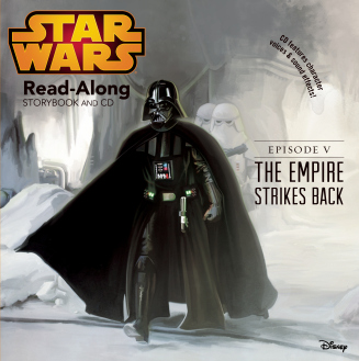 empire strikes back read along story and cd