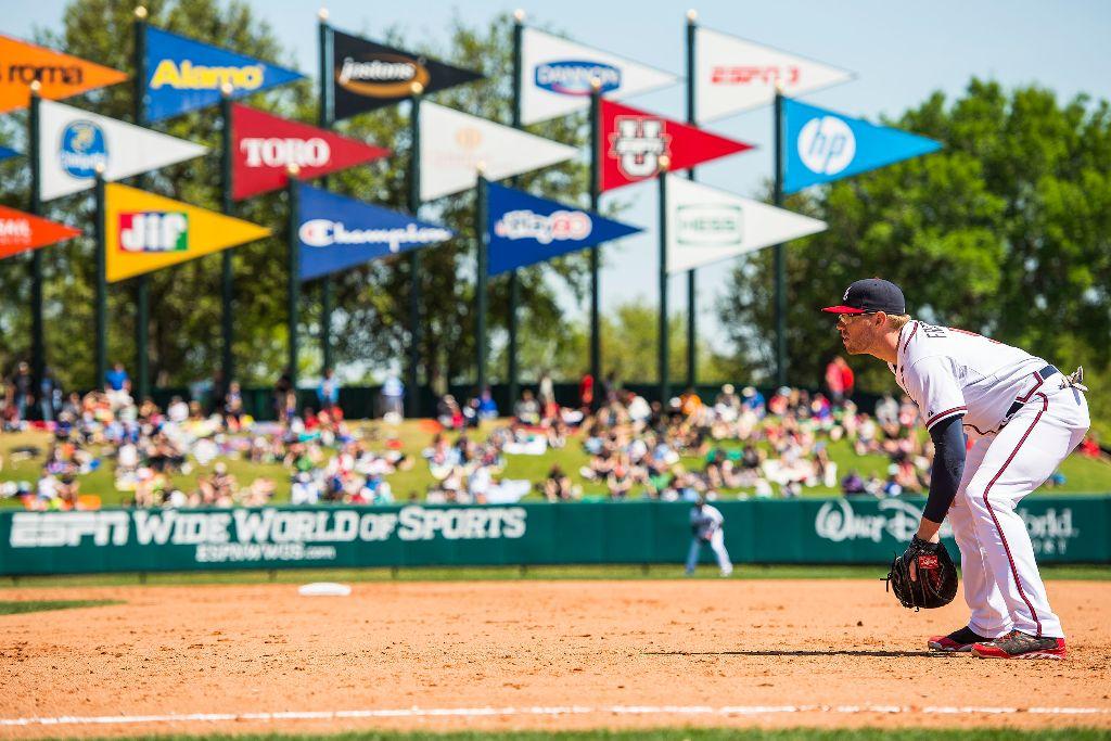 Final Season Of Atlanta Braves Spring Training Underway At Disney