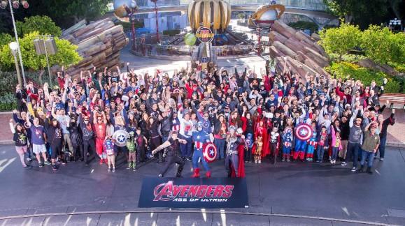 Marvel Avengers Age of Ultron Disneyland event