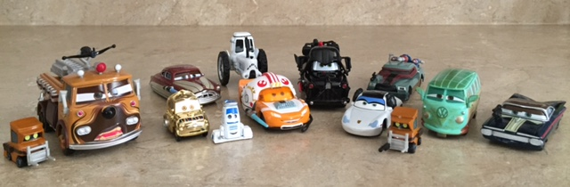Cars Star Wars Diecast - 1st release - FULL