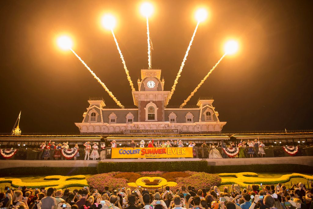 "Disney Parks ""Coolest Summer Ever"" kicks off with 24-hour event"