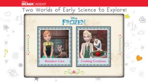 frozen science app