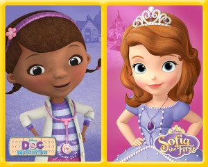DOC MCSTUFFINS, SOFIA THE FIRST