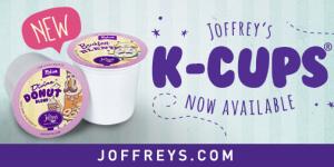K-Cup joffrey's coffee