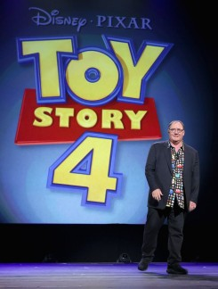 """Toy Story 4 """"Pixar And Walt Disney Animation Studios: The Upcoming Films"""" Presentation At Disney's D23 EXPO 2015"""