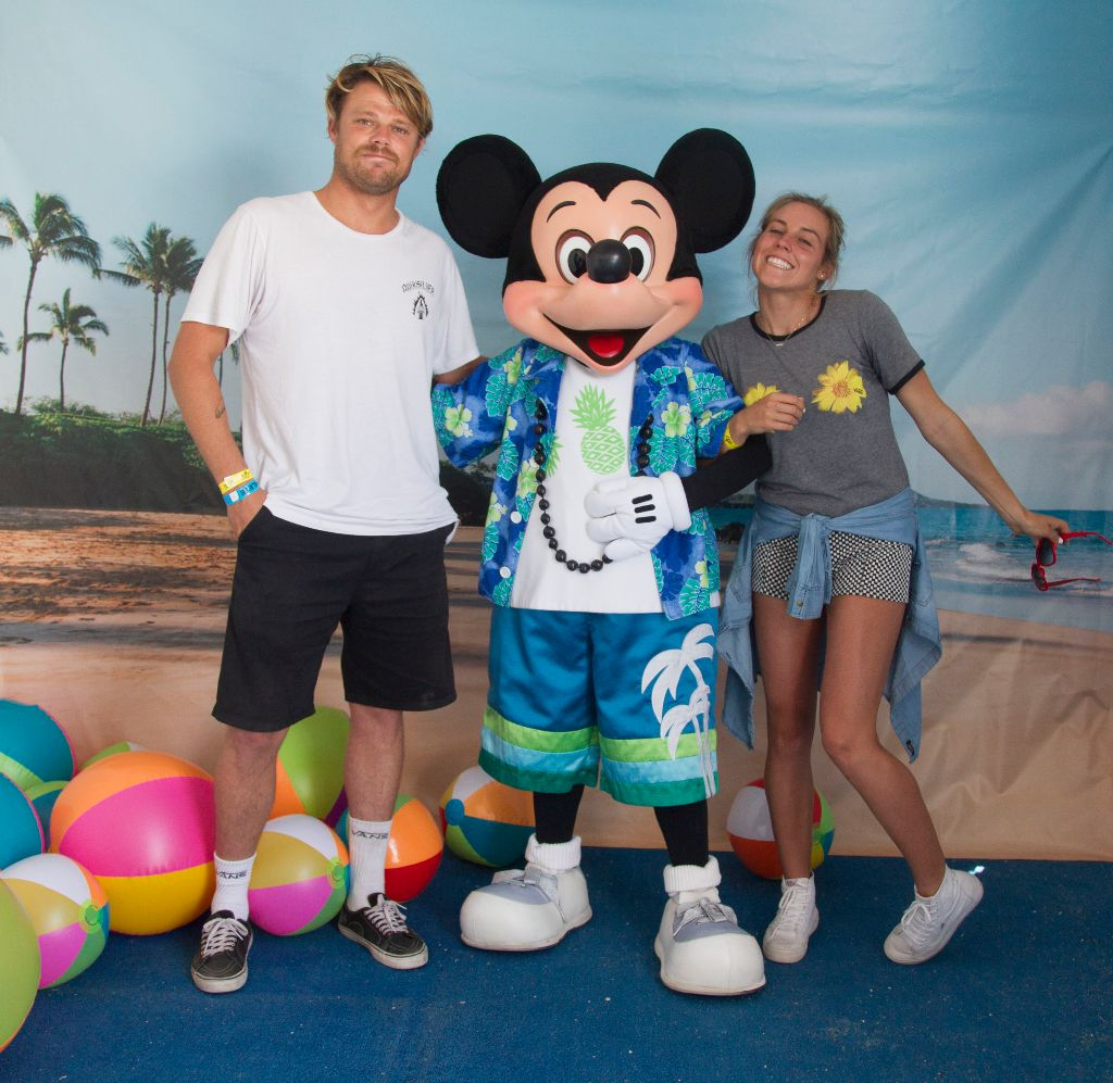 Leila Hurst and Dane Reynolds - Mickey' Vans