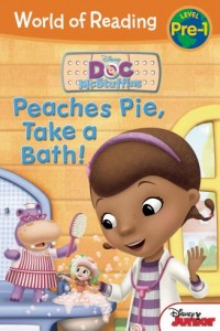 World of Reading Peaches Pie, Take a Bath!