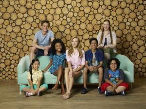 NINA LU, KEVIN G. QUINN, SKAI JACKSON, PEYTON LIST, KARAN BRAR, MIRANDA MAY, NATHAN ARENAS, Bunk'd Disney Channel