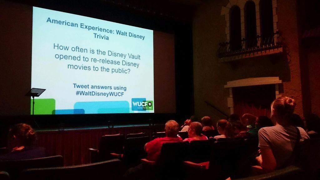Walt Disney PBS forum