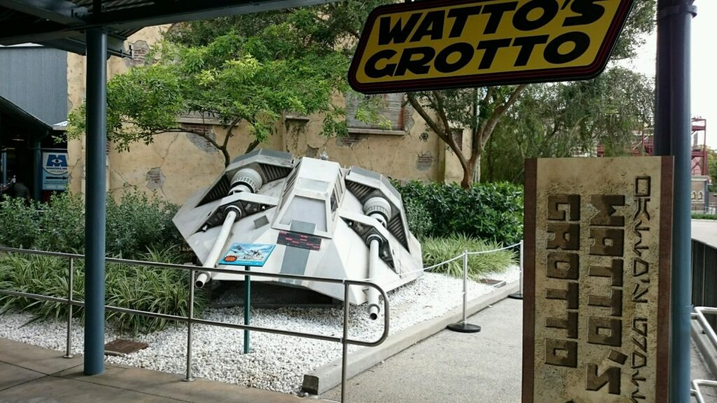 Watto's Grotto - Wordless Wednesday