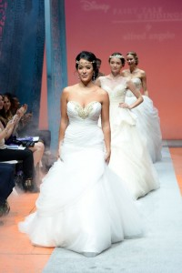 2016 Alfred Angelo Disney Fairy Tale Weddings Bridal Collection Fashion Show Debut
