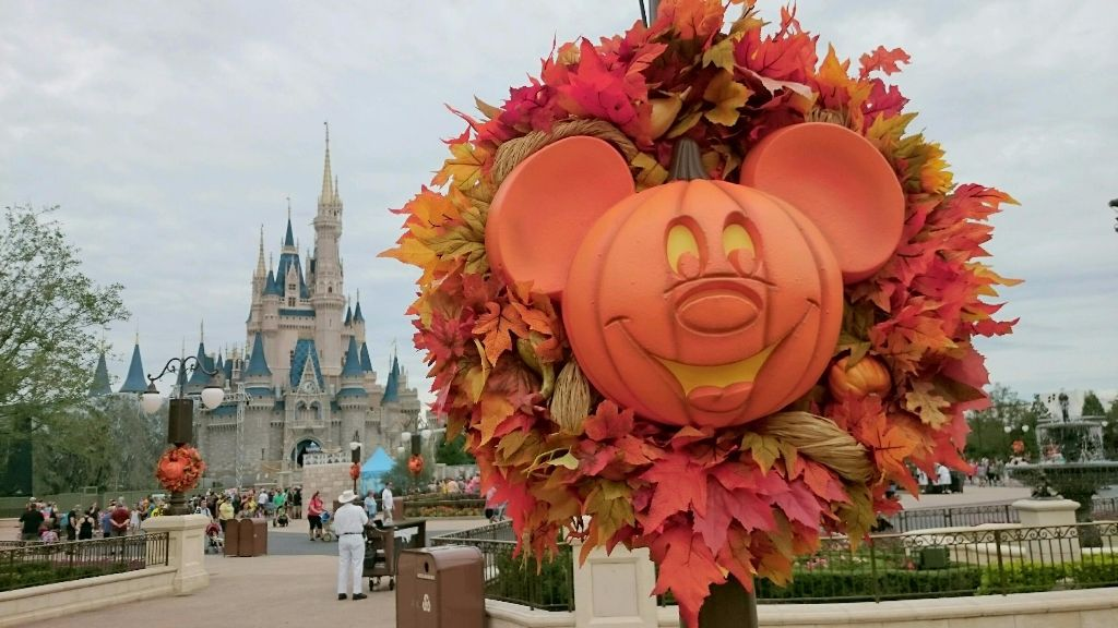 Cinderella Castle - Fall - Wordless Wednesday