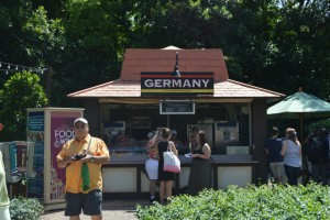 Germany Kiosk - epcot food & wine