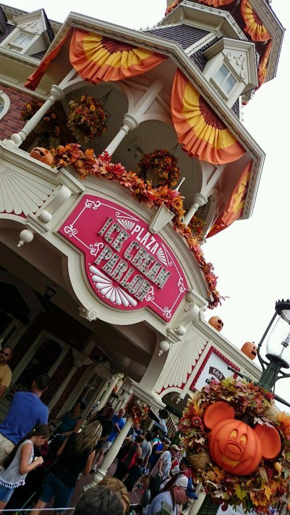 Plaza Ice Cream Shop - Wordless Wednesday
