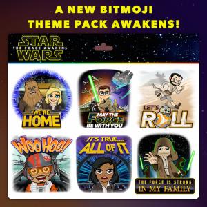 Star Wars The Force Awakens Bitmoji