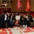 CORBIN BLEU, MONIQUE COLEMAN, VANESSA HUDGENS, LUCAS GRABEEL, ASHLEY TISDALE High School Musical reunion